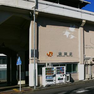 鶴舞駅 病院口風景