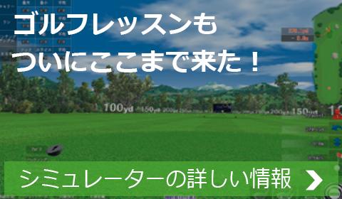 ゴルフレッスンもここまで来た! シミュレーション・システムの詳しい情報